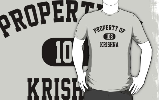 Property of Krishna by personalized