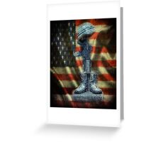 Falen Solider  Greeting Card