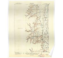 USGS Topo Map Oregon Monroe 282726 1922 62500 Poster