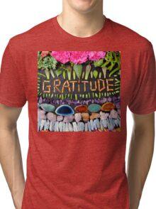 GRATITUDE Tri-blend T-Shirt
