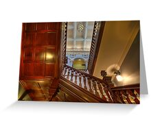 Customs House Staircase • Brisbane • Queensland Greeting Card