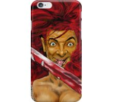 MR BEAN IS RED SONIA ! iPHONE CASE iPhone Case/Skin