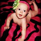 Pink Zebra Babe by Cynde143