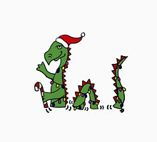 Funny Cool Loch Ness Monster in Christmas Lights Unisex T-Shirt
