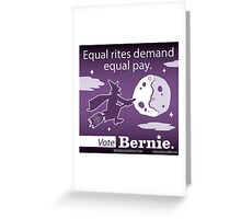 Bernie Halloween Sticker Equal Rites Greeting Card