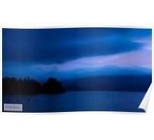 Loch Lomond - Blue Monday Poster