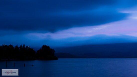 Loch Lomond - Blue Monday by Michael Bailey