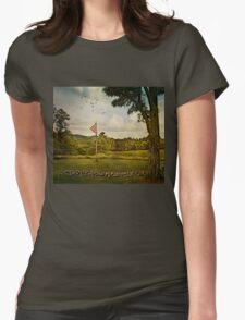 Waiting 'til the Morning Comes Womens Fitted T-Shirt