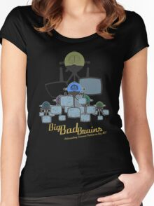 Big Bad Brains Women's Fitted Scoop T-Shirt