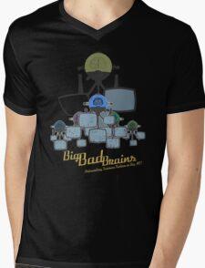Big Bad Brains Mens V-Neck T-Shirt