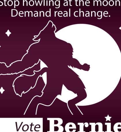Bernie Halloween Sticker Howl at Moon Sticker