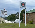 Nanango Ambulance Station by Margaret  Hyde