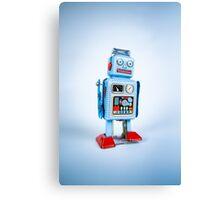 Clockwork Robot Canvas Print