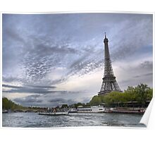 On the River Seine (1) Poster