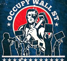 Occupy Wall Street poster by patrimonio