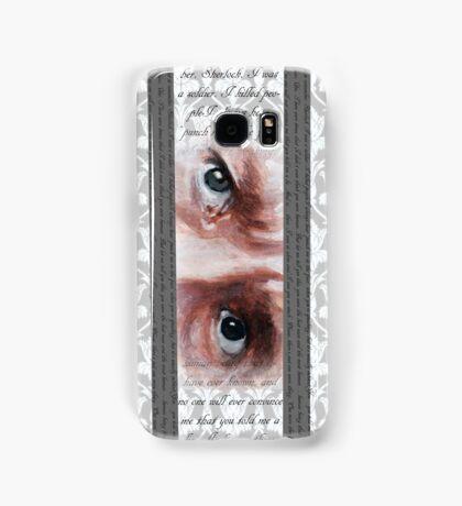 John Watson Eyes 2 Samsung Galaxy Case/Skin