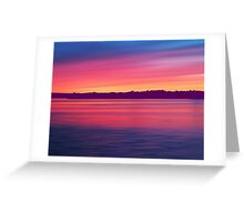 Rouge Dawn Greeting Card