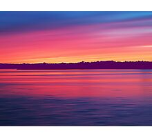 Rouge Dawn Photographic Print