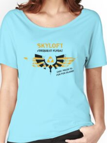 Skyloft Frequent Flyers Women's Relaxed Fit T-Shirt