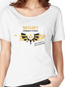 Skyloft Frequent Flyers Women's Relaxed Fit T-Shirt