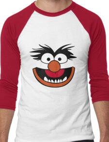 Animal Muppet (Orange Lips&Nose) Men's Baseball ¾ T-Shirt