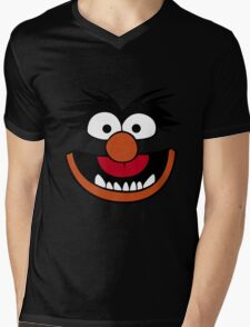 Animal Muppet (Orange Lips&Nose) Mens V-Neck T-Shirt