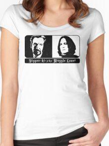 Best villain Best hero Women's Fitted Scoop T-Shirt
