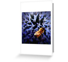 Buzz V Greeting Card