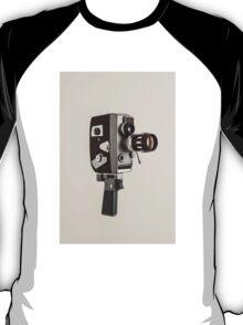 Retro Cine Camera T-Shirt