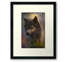 WOLF... Framed Print