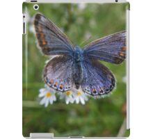 Common blue iPad Case/Skin