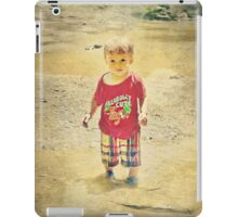 Will you play with me? iPad Case/Skin