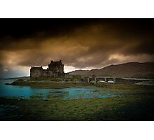 The Castle and The Storm Photographic Print