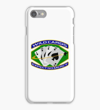 58th Squadron - 'Wildcards' Logo iPhone Case/Skin