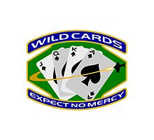 58th Squadron - 'Wildcards' Logo by AtlantianKing