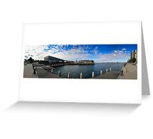 STATION PIER, MELBOURNE Greeting Card