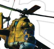 Mi 24 Hind color Sticker