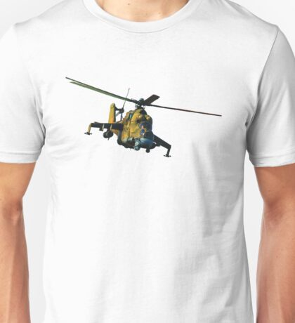 Mi 24 Hind color Unisex T-Shirt