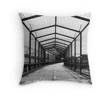 Cycle Bridge Throw Pillow