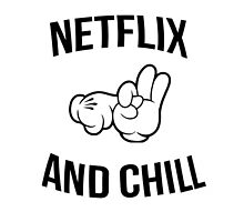 Netflix and chill - hands by Ward Designs