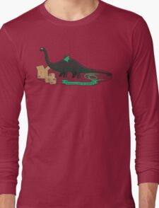 Dinosaurs love to cosplay Long Sleeve T-Shirt