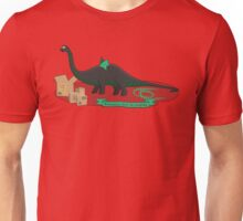 Dinosaurs love to cosplay Unisex T-Shirt