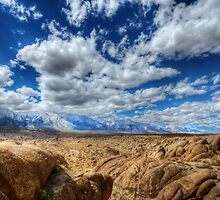 Alabama Hills by Ted Lansing