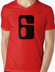 Houston!  Number 6!  Jonathan! Mens V-Neck T-Shirt