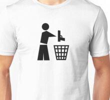 Bin your guns Unisex T-Shirt