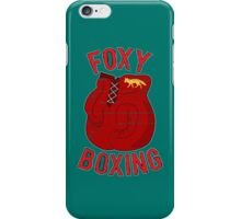Foxy boxing iPhone Case/Skin