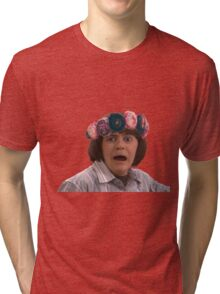 Coconut Head Flower Crown Tri-blend T-Shirt