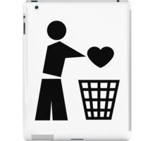 Bin your heart iPad Case/Skin