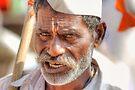 The flag bearer by Prasad