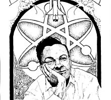 Richard Feynman by Jayson  Orr